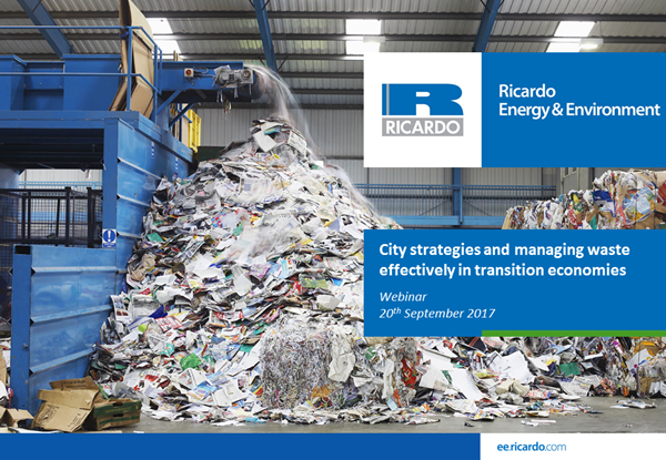 City strategies and managing waste effectively in transition economies