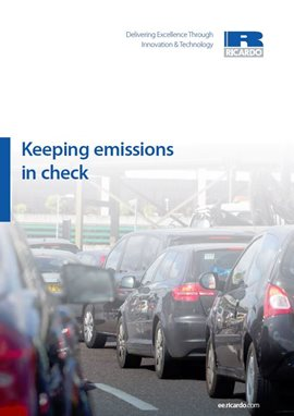 Keeping emissions in check